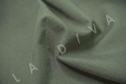 вареный (стиранный) хлопок зеленого цвета рис-3