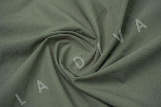 вареный (стиранный) хлопок зеленого цвета рис-4