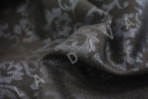 костюмный джинс с принтом на черном фоне рис-2