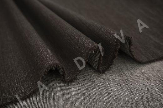 костюмный джинс коричневого цвета рис-3