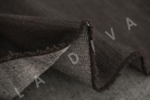 костюмный джинс коричневого цвета рис-4