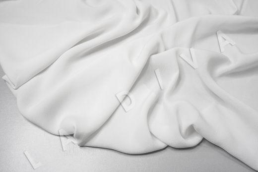 Креповая вискоза белого цвета рис-3