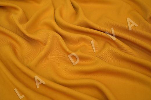 костюмная вискоза твилового плетения желтого цвета рис-2