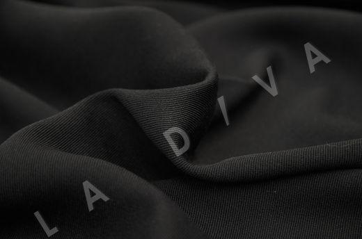костюмная вискоза твилового плетения черного цвета рис-3