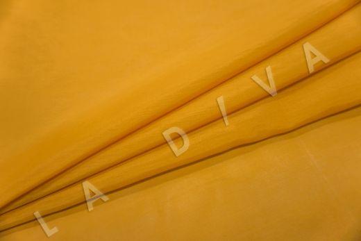 Батист шелковый оранжевого цвета  рис-2