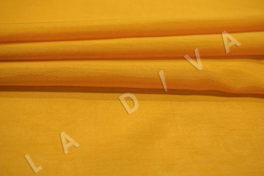 Батист шелковый оранжевого цвета  рис-3