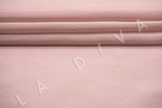 Батист шелковый цвет пыльная роза рис-3
