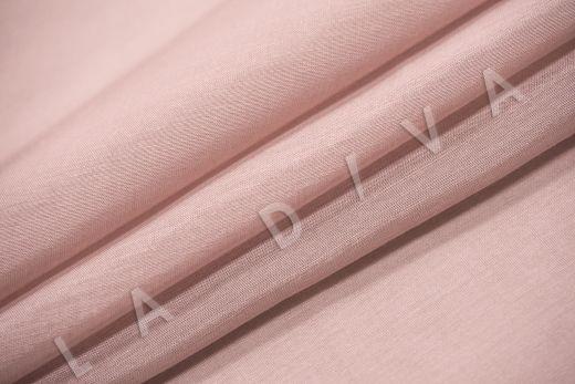 Батист шелковый цвет пыльная роза рис-4