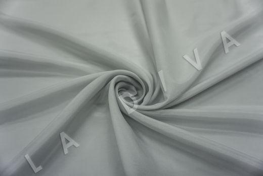 Батист шелковый серого цвета 5