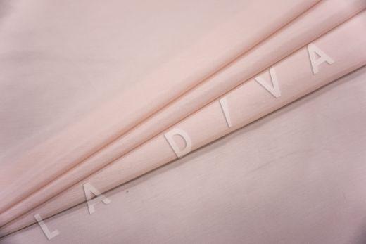 Батист шелковый пудрового цвета  рис-2
