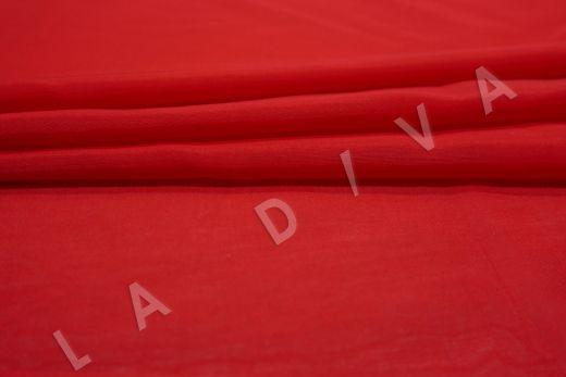 Батист шелковый красного цвета  рис-3