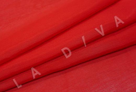 Батист шелковый красного цвета  рис-4