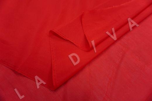 Батист шелковый красного цвета 6