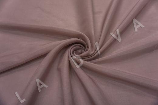 Батист шелковый цвет пыльная роза