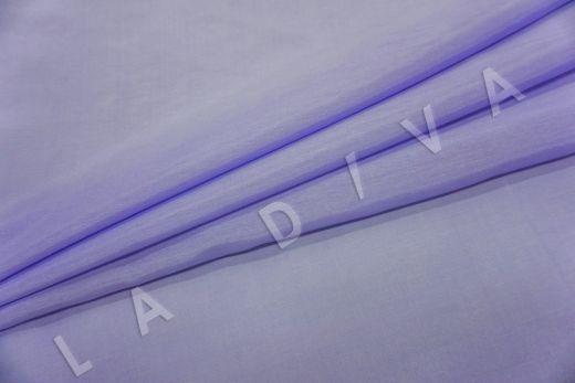 Батист шелковый лавандового цвета  рис-2
