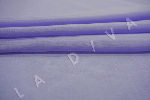Батист шелковый лавандового цвета  рис-3