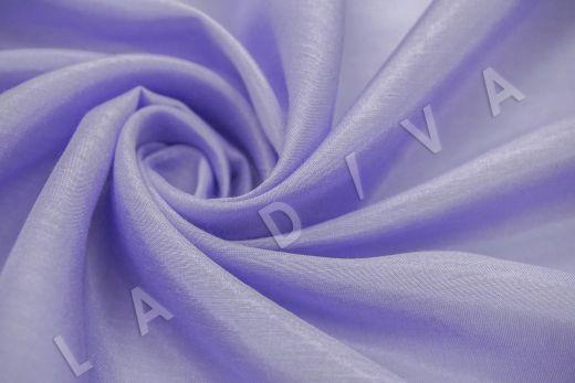 Батист шелковый лавандового цвета