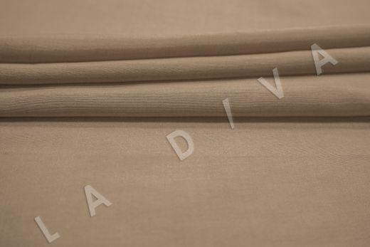 Батист шелковый цвета какао  рис-3