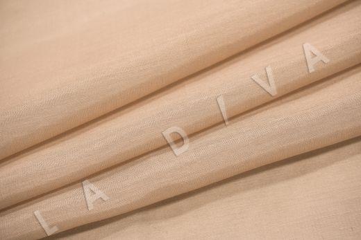 Батист шелковый бежевого цвета  рис-4