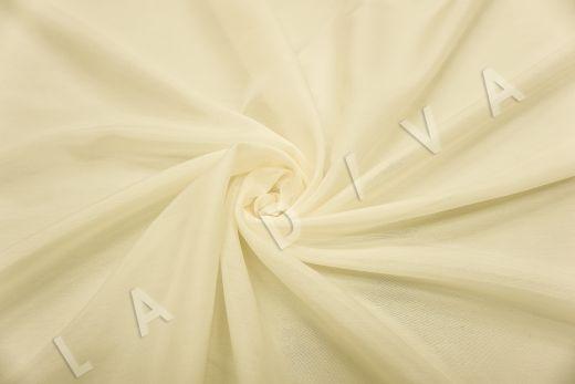 Батист шелковый молочного цвета  рис-2