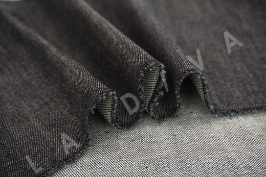костюмный джинс черного цвета рис-3