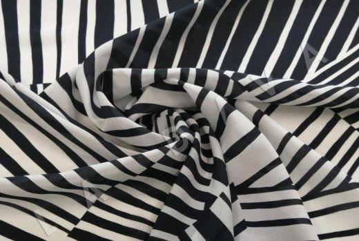 шелк с абстрактным рисунком рис-3
