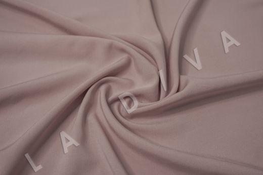 Вискоза с эластаном однотонная цвет пыльная роза